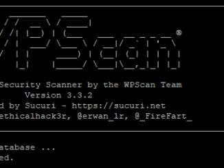 wpscan - הבלוג הטכנולוגי של תומר קליין - techblog.co.il