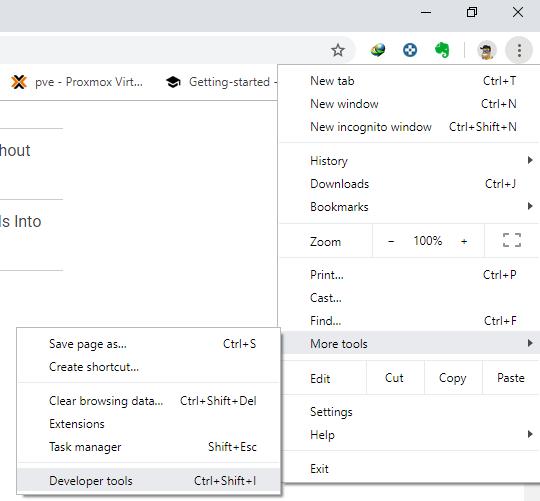 Chrome Developer Tools - Techblog.co.il