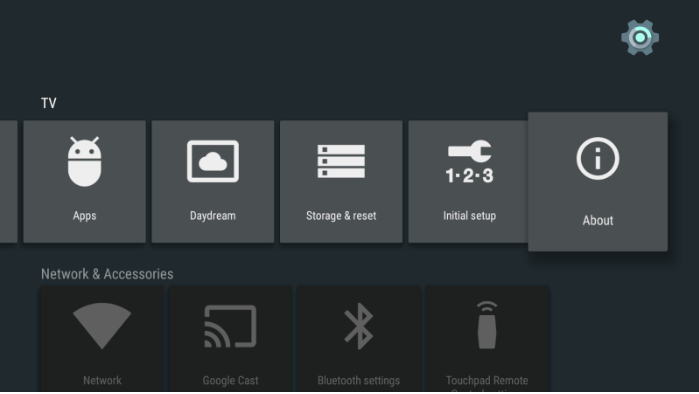 ADB - AndroidTV - About
