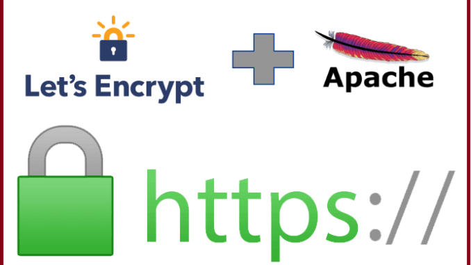 Setup Let's Encrypt With Apache on Ubuntu