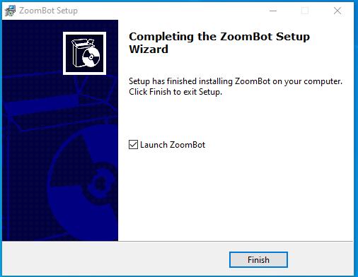ZoomBot Setup Finish - Tomer Klein